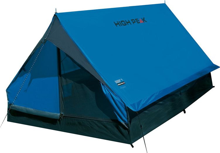 Палатка High Peak Minipack, цвет: синий, серый, 190 х 120 х 95 см. 10155
