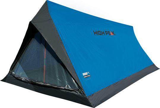 Палатка High Peak Minilite, цвет: синий, серый, 200 х 120 х 90 см. 10157