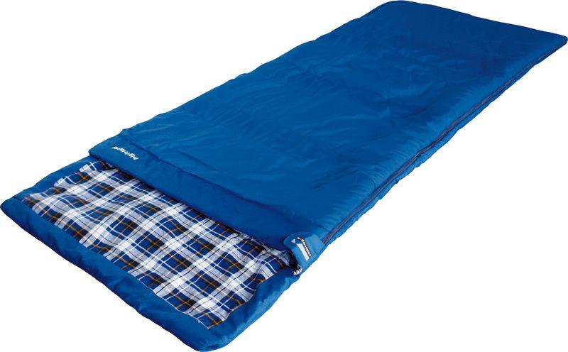 Спальный мешок-одеяло High Peak Highland, цвет: синий, левосторонняя молния спальный мешок high peak ovo