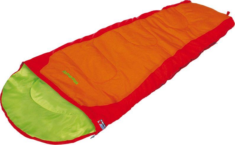 Спальный мешок-одеяло High Peak Kiowa, цвет: красный, оранжевый, левосторонняя молния