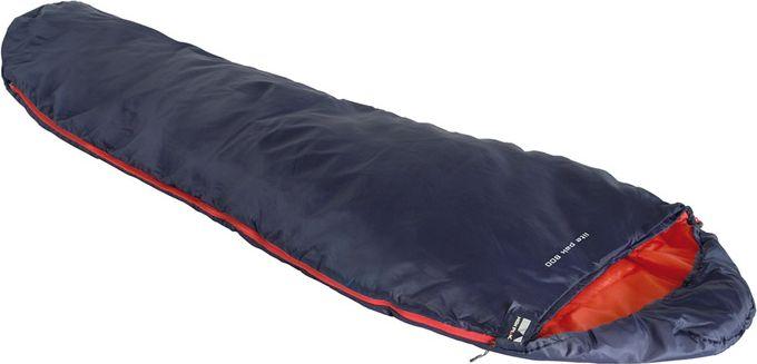 Спальный мешок High Peak Lite Pak 800, цвет: синий, оранжевый, левосторонняя молния
