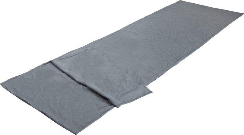 Вставка в спальный мешок High Peak TC Inlett Travel, цвет: серый, 225 х 80 см. 23527