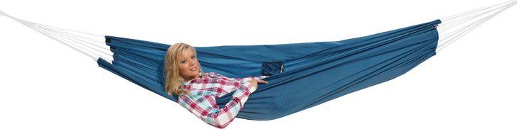 Гамак High Peak Hangematte, цвет: синий, 220 х 140 см гамак гамак гамак гамак гамак открытый гамак наружные подвески