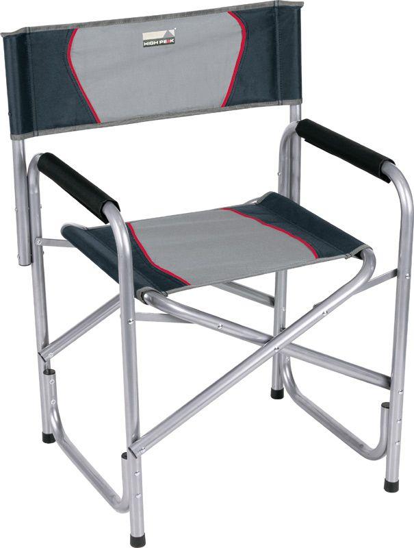 Кресло складное High Peak Campingstuhl Cadiz, цвет: серый, темно-серый, 58 х 48 х 44/78 см high peak safari