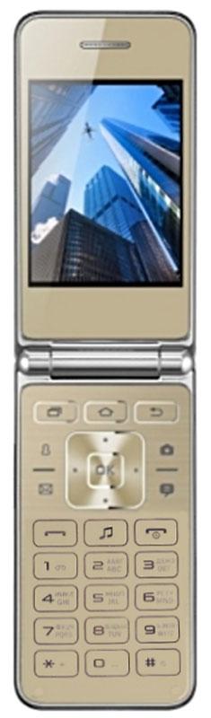 Мобильный телефон Vertex S104, золотой vertex s104 red