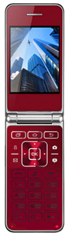 Мобильный телефон Vertex S104, красный vertex s104 red