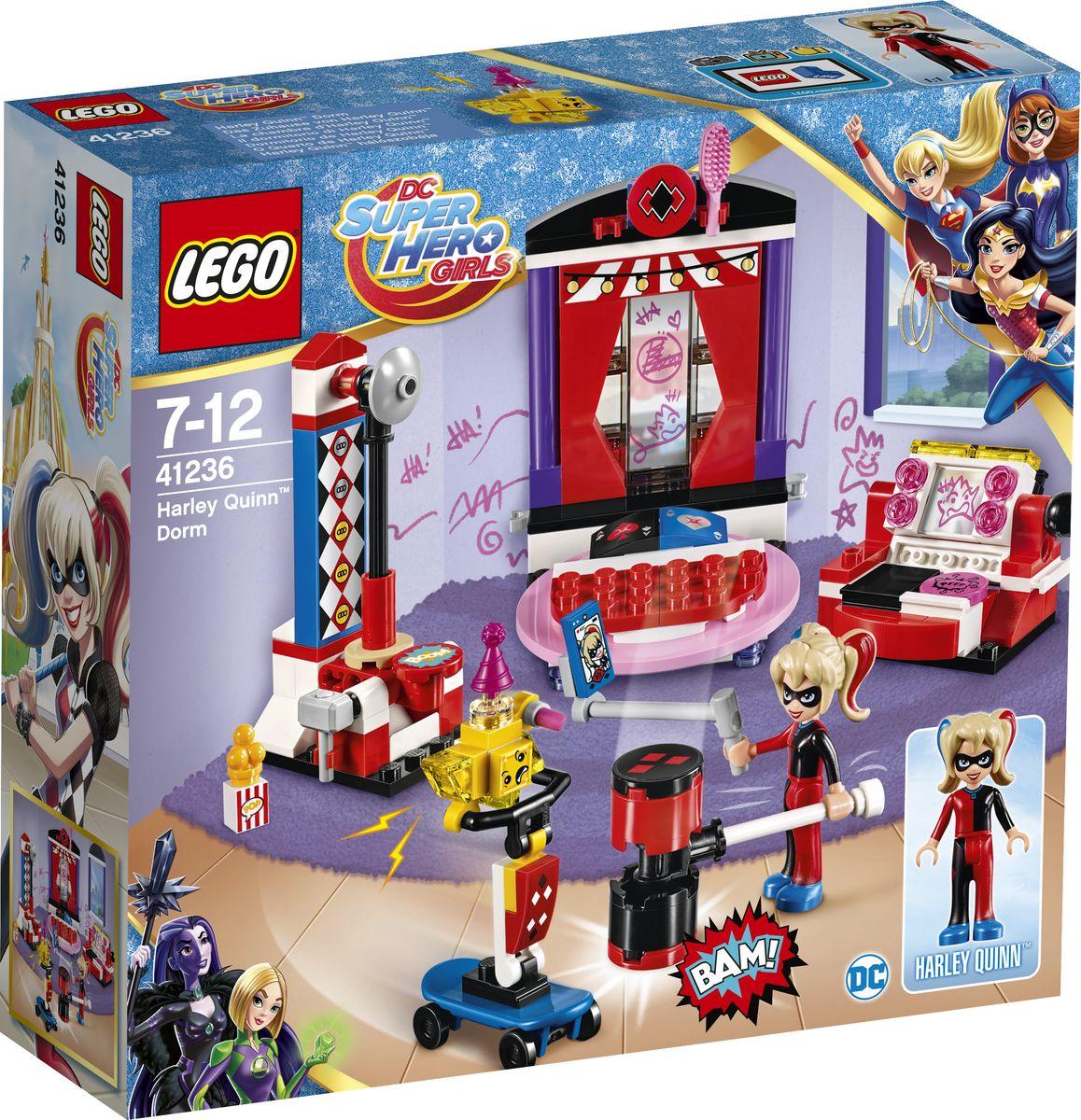 LEGO DC Super Hero Girls Конструктор Дом Харли Квинн 41236 видео фильм как поймать живую куницу