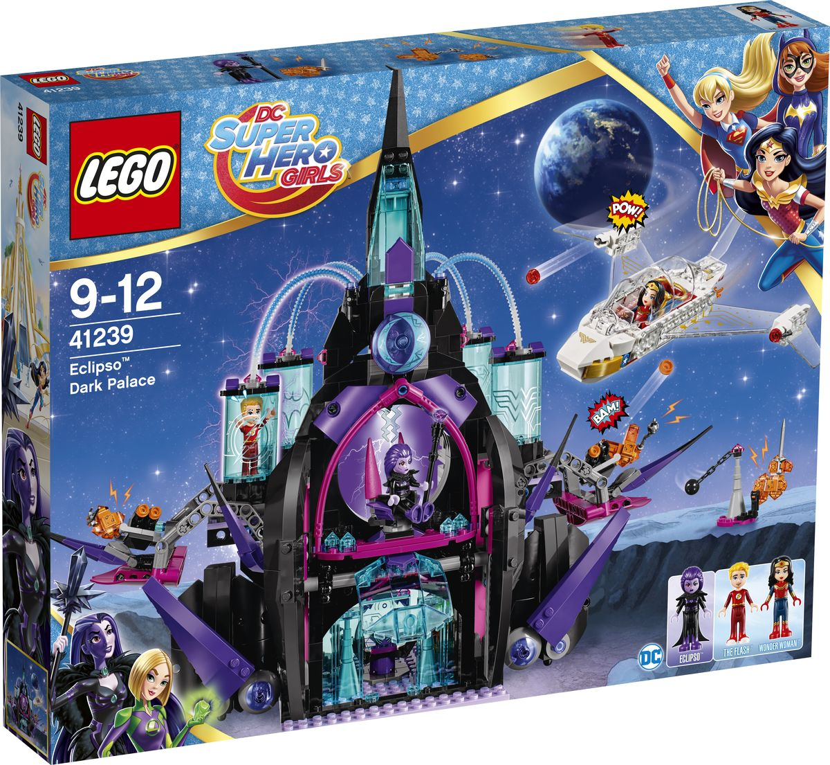 LEGO DC Super Hero Girls Конструктор Темный дворец Эклипсо 41239 lego super hero girls 41238 конструктор лего супергёрлз фабрика криптомитов лены лютор