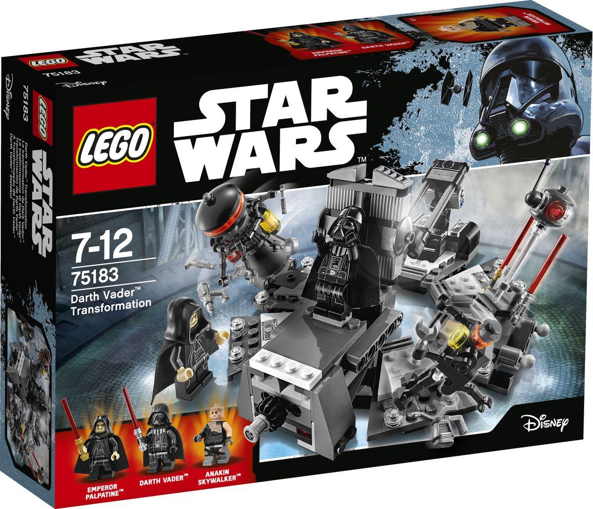 LEGO Star Wars 75183 Превращение в Дарта Вейдера Конструктор