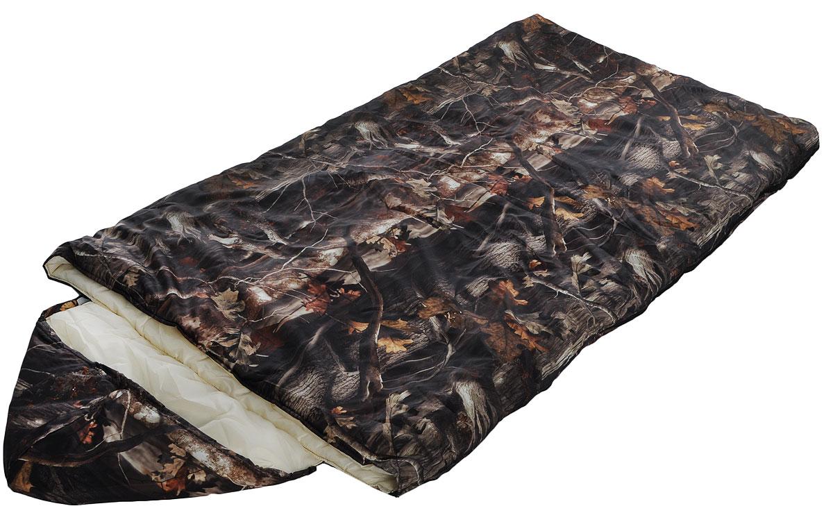 Мешок спальный Onlitop Богатырь, правосторонняя молния, цвет: хаки, 225 х 105 см мешок спальный onlitop богатырь правосторонняя молния цвет хаки 225 х 105 см
