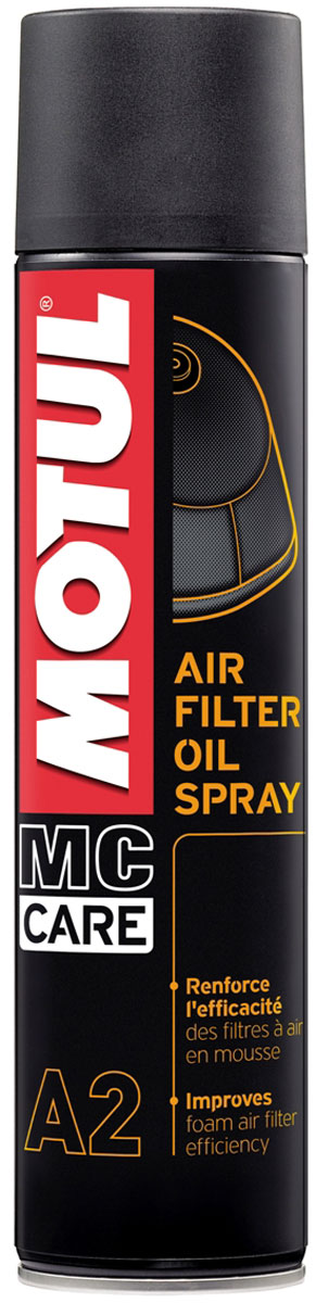 Фото - Смазка Motul A2 Air Filter Oil Spray, 400 мл. 102986 смазка durex play massage 2in1 гуарана смазка массажное масло