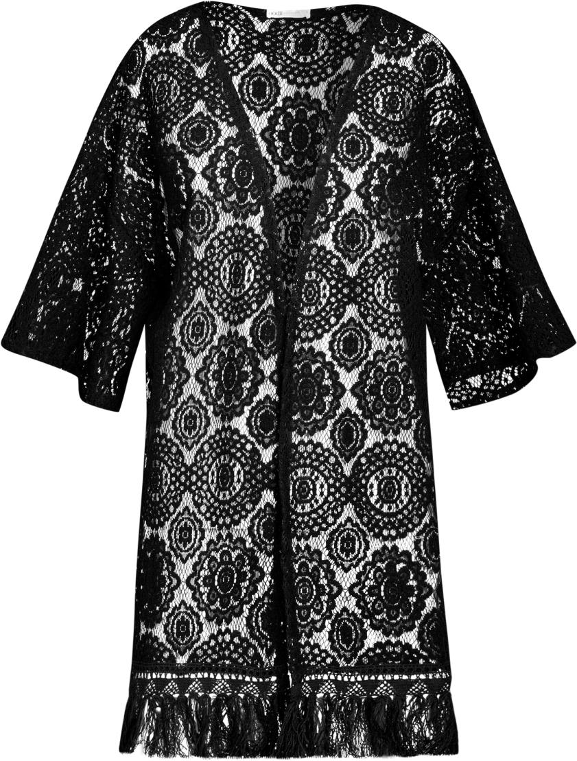 Пеньюар oodji livia corsetti amaretta черный пеньюар из атласного материала