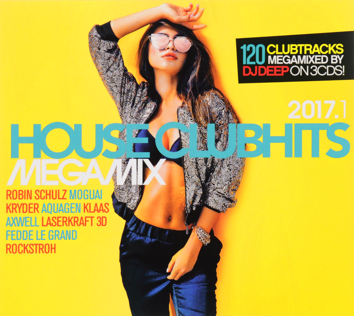 House Clubhits Megamix 2017.1 (3 CD)