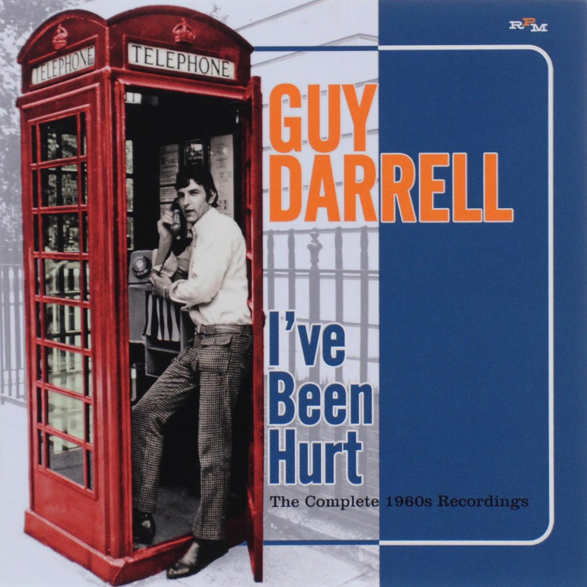 Guy Darrell Guy Darrell. I've Been Hurt. The Complete 1960s Recordings darrell kinsey torsino