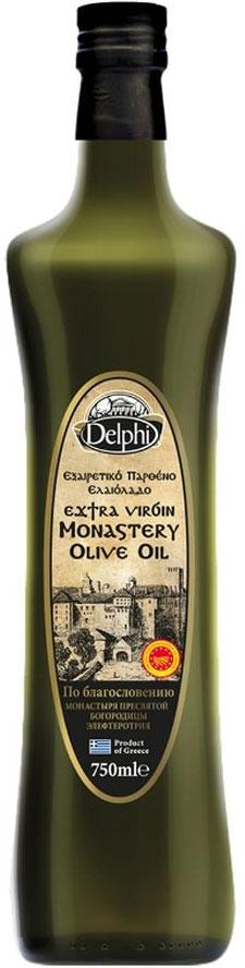 Delphi масло оливковое Extra Virgin монастырское, 750 мл just greece premium extra virgin оливковое масло 750 мл
