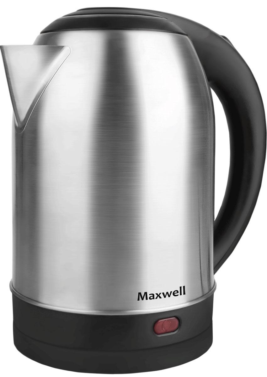 Электрический чайник Maxwell MW-1077(ST) цена и фото