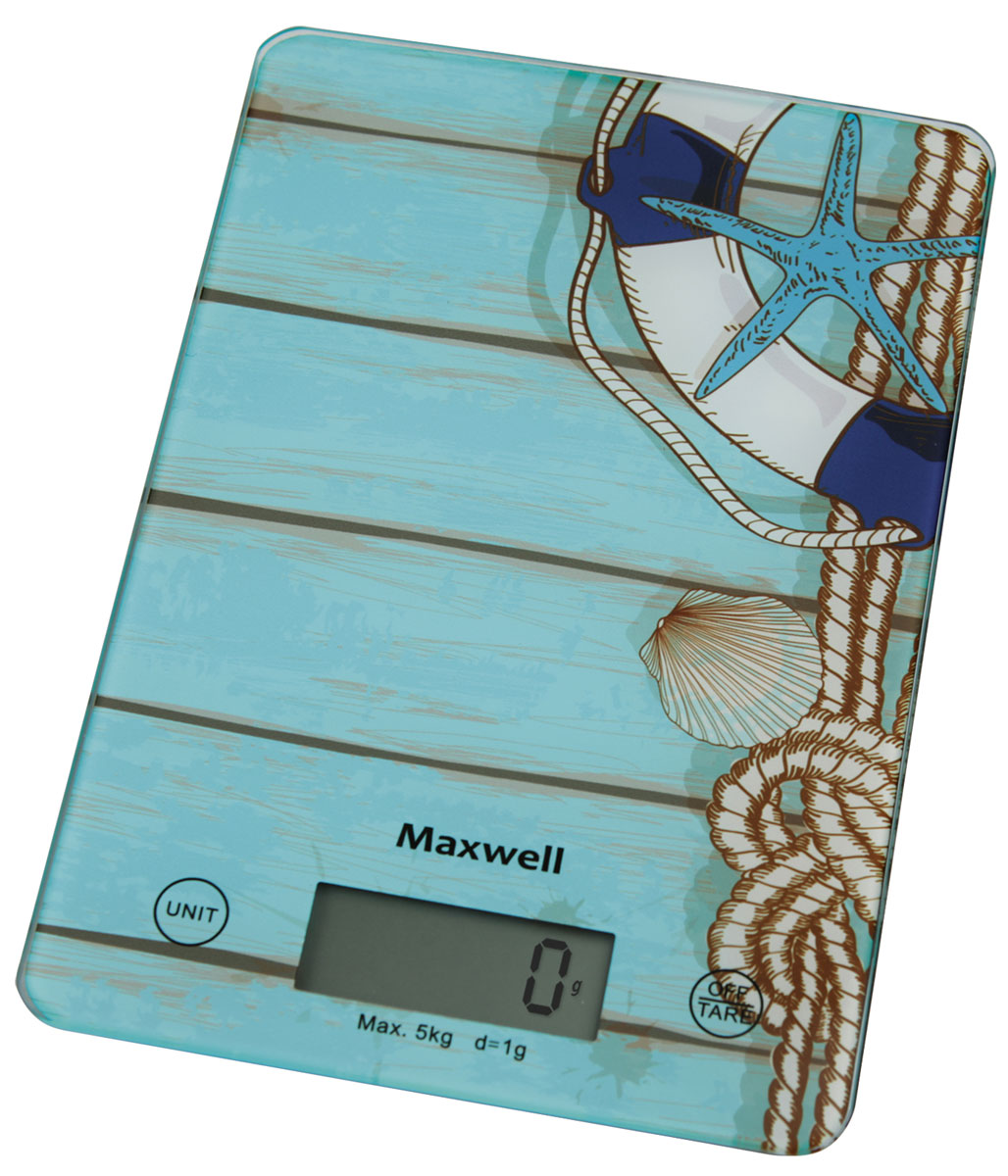 Кухонные весы Maxwell MW-1473(B) весы кухонные maxwell mw 1476 w белый рисунок