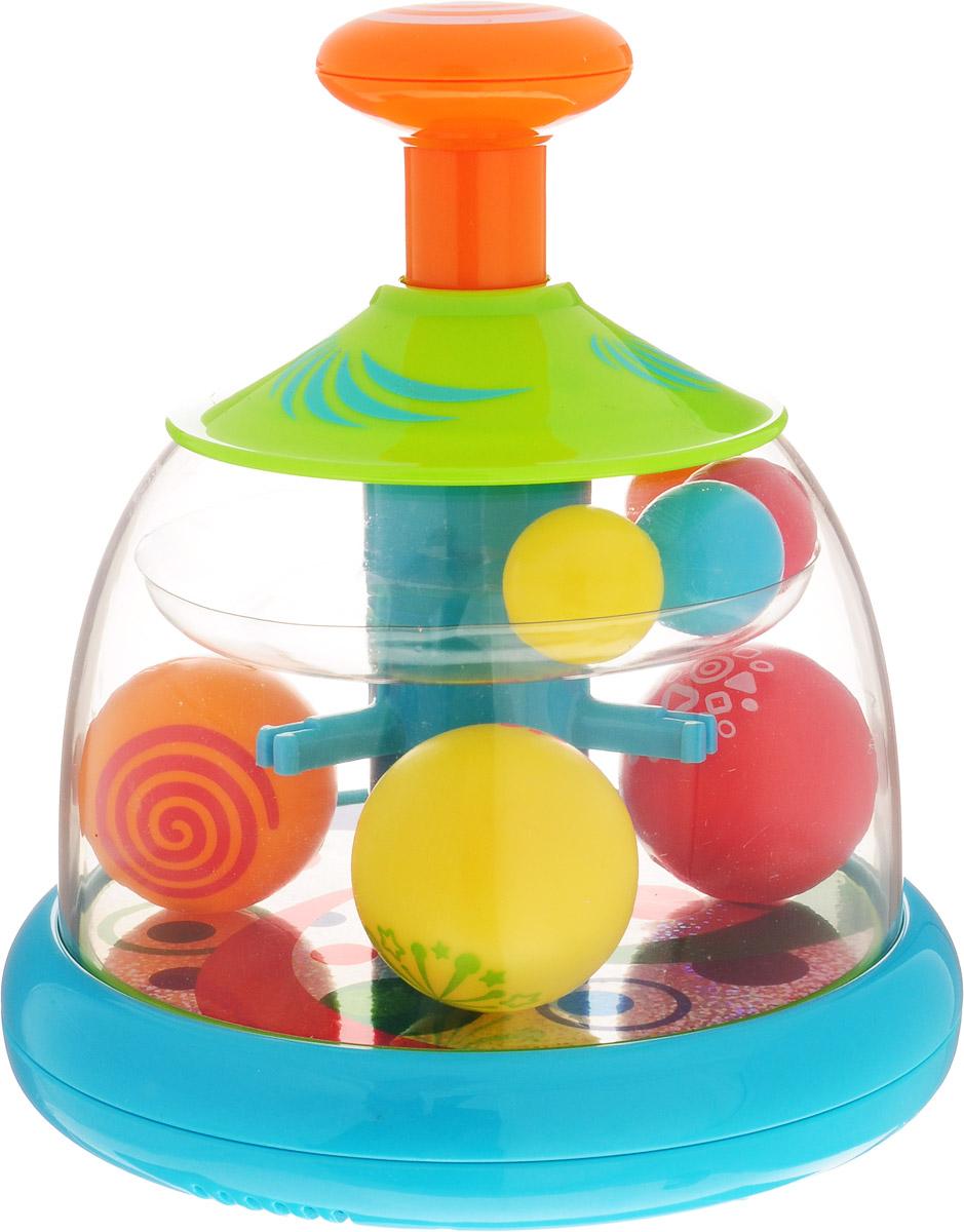 Playgo Развивающая игрушка Юла с шарами