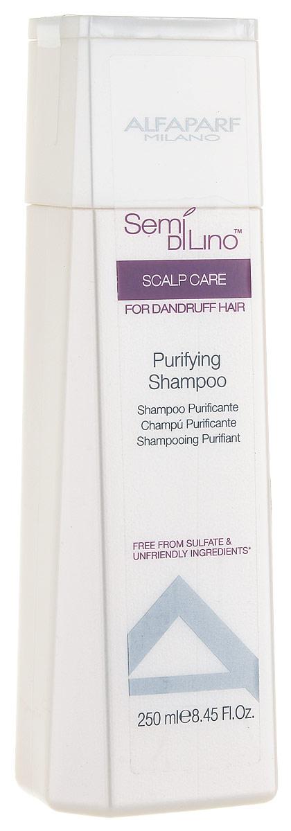 Alfaparf Semi Di Lino Scalp Puryfining Shampoo Очищающий шампунь, 250 мл недорого