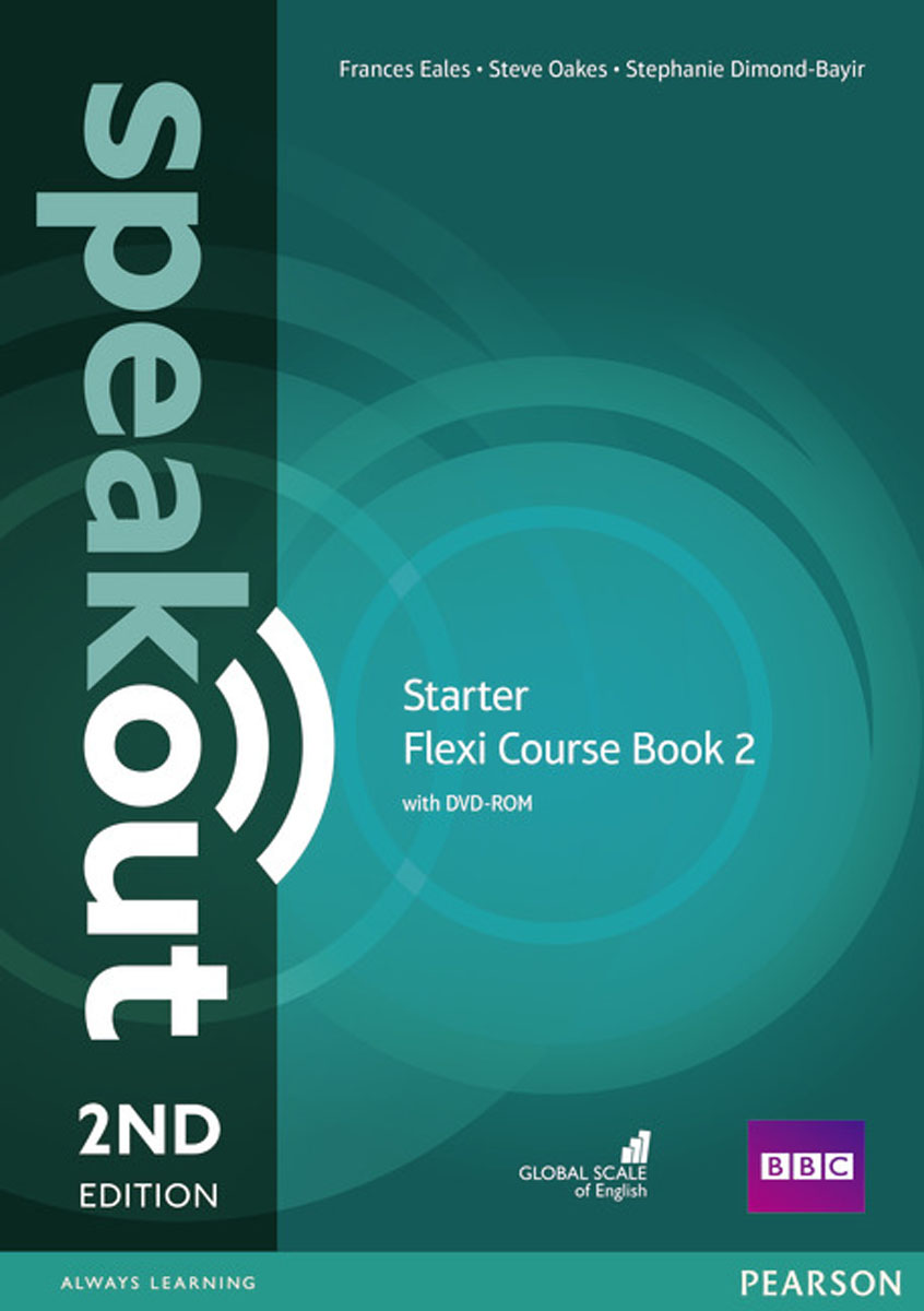Speakout Starter Flexi Course: Book 2 speakout starter student s book dvd
