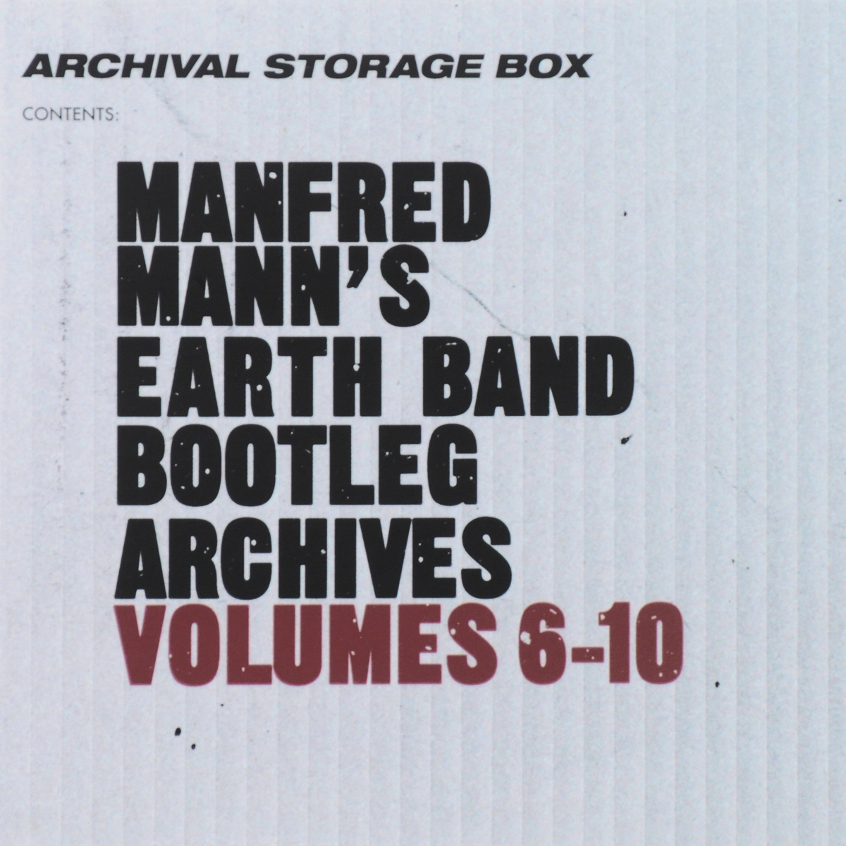 Manfred Mann's Earth Band Manfred Mann's Earth Band. Bootleg Archives. Volumes 6-10 (5 CD) manfred mann s earth band then