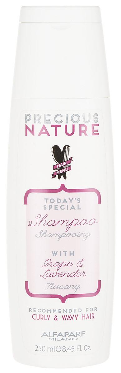 Alfaparf Precious Nature Shampoo for Curly and Wavy Hair Шампунь для кудрявых и вьющихся волос, 250 мл недорого