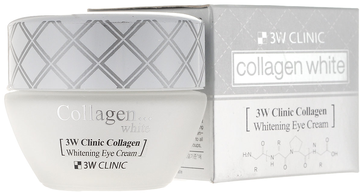 3W ClinicКрем для век с коллагеном Collagen Whitening Eye Cream, 35 мл 3W Clinic