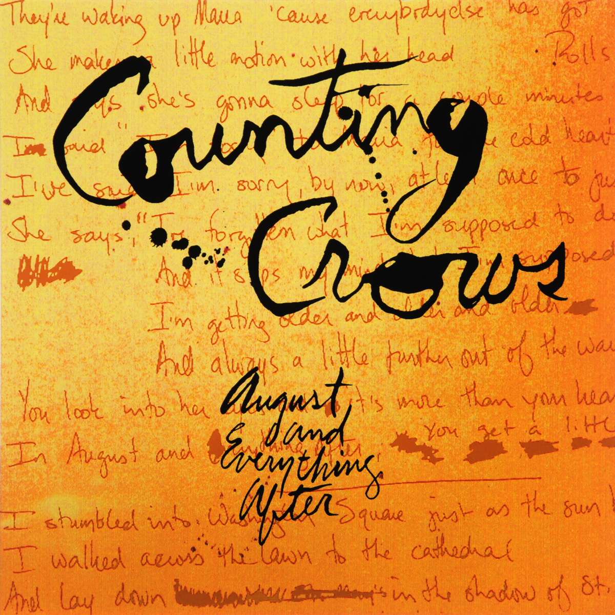 Counting Crows Counting Crows. August & Everything After (2 LP) горнолыжные палки black crows black crows oxus желтый 130