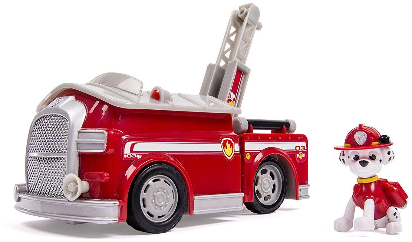 Paw Patrol Игровой набор Машина-трансформер со звуком и светом spin master nickelodeon paw patrol машина трансформер маршал со звуком 16704