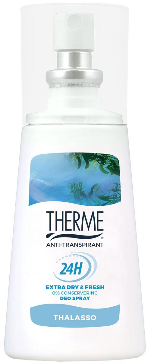 Therme Спрей – антиперспирант Талассо, 75 мл therme талассо масло взбитое для тела талассо масло взбитое для тела