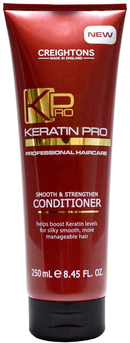 Creightons Укрепляющий и увлажняющий кондиционер для волос с кератином, 250 мл creightons укрепляющий и увлажняющий кондиционер для волос с кератином 250 мл