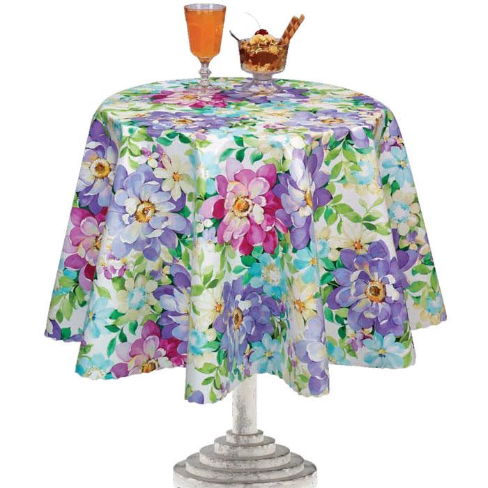 Столовая клеенка L'Cadesi Florista, прямоугольная, цвет: мультиколор, 140 х 200 см. FL140200-132-01 столовая клеенка l cadesi florista прямоугольная цвет мультиколор 140 х 200 см fl140200 132 01