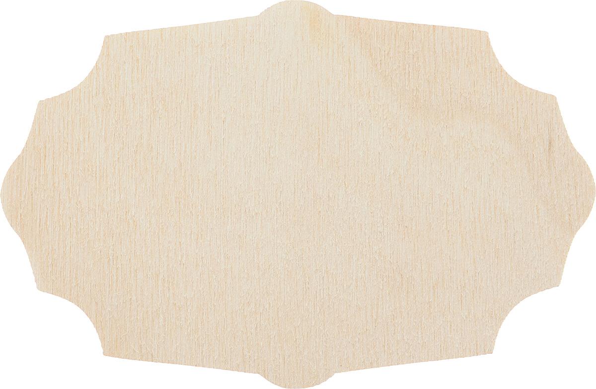Заготовка деревянная Decoriton Панно №15, 10 х 6,5 х 0,3 см набор заготовок для декорирования decoriton подвески елочные медальоны набор 5 фанера 0 3см высота 5см