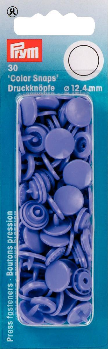 Набор кнопок Prym Color Snaps, цвет: сиреневый, 12,4 мм, 30 шт набор инструментов для установки кнопок prym color snaps
