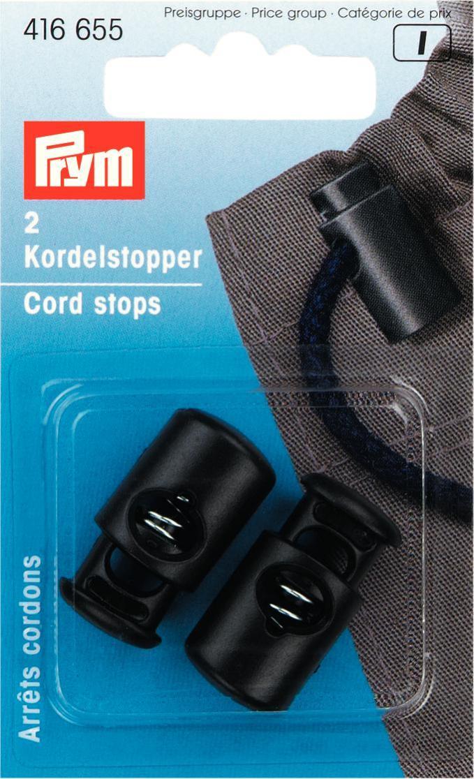 Набор ограничителей для шнура Prym, цвет: черный, 2 шт шина yokohama geolandar a t g015 255 70 r16 109t