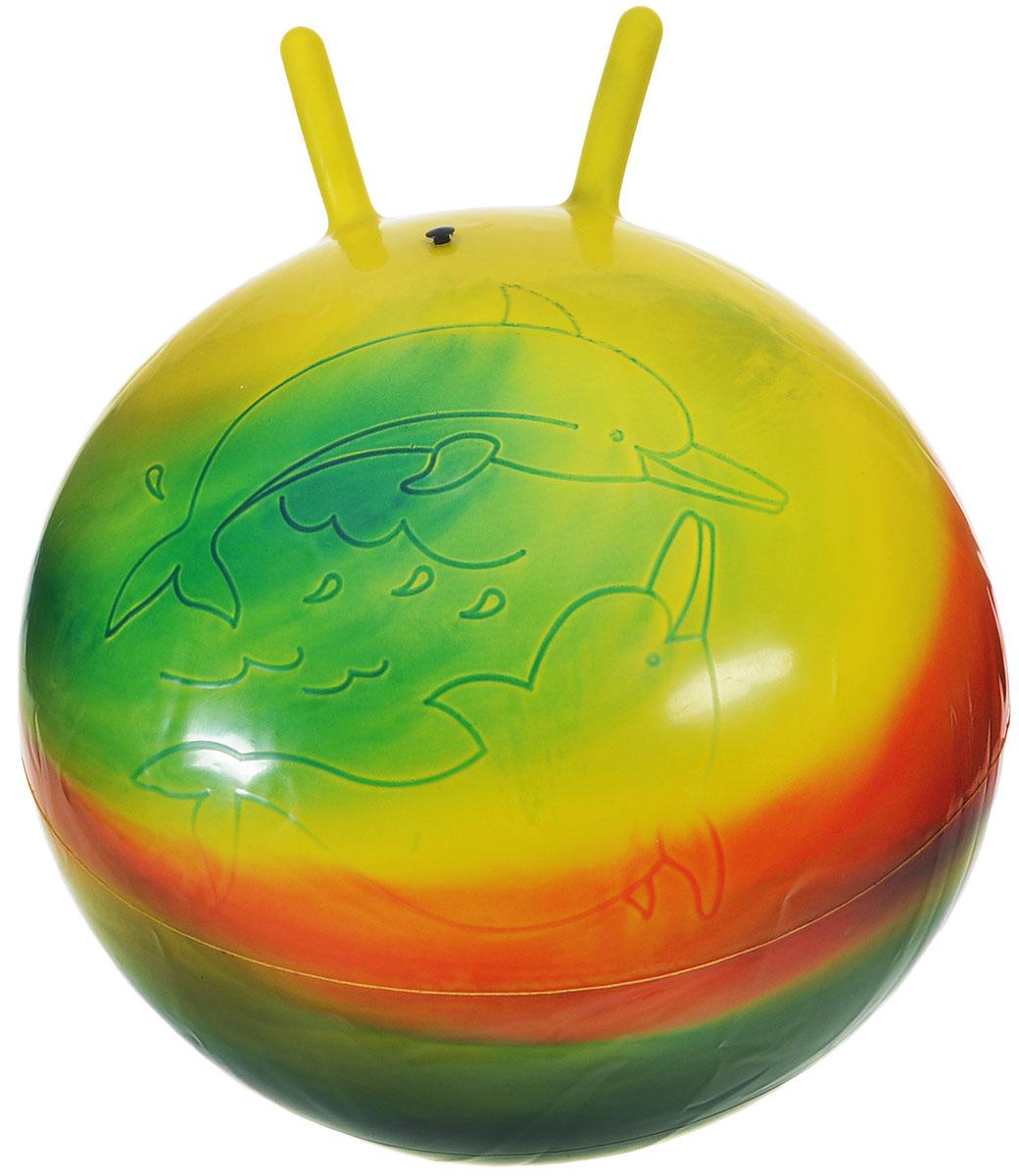 Stantoma Игрушка-попрыгун Мяч с рогами цвет мультиколор 55 см мяч попрыгун наша игрушка мяч трансформер пластик от 3 лет разноцветный 100994539