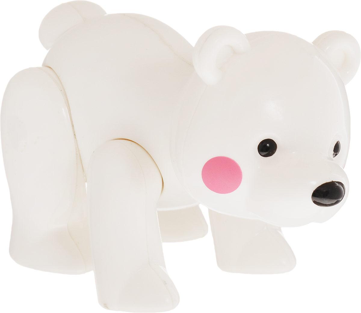 Ути-Пути Развивающая игрушка Медведь цвет белый ю каталог ути пути