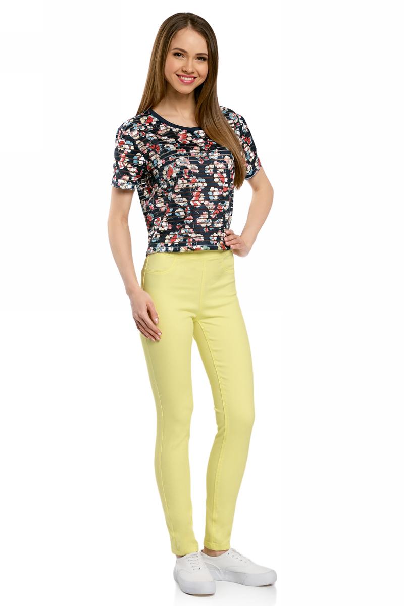 Джинсы oodji джинсы женские oodji цвет синий 22104026 4b 46260 7500w размер 30 30 50 30