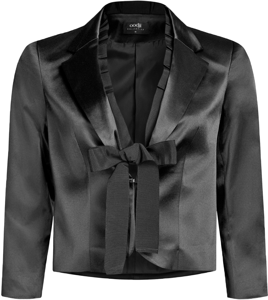 Жакет oodji жакет женский oodji collection цвет черный 73205182 1 31328 2900n размер s 44