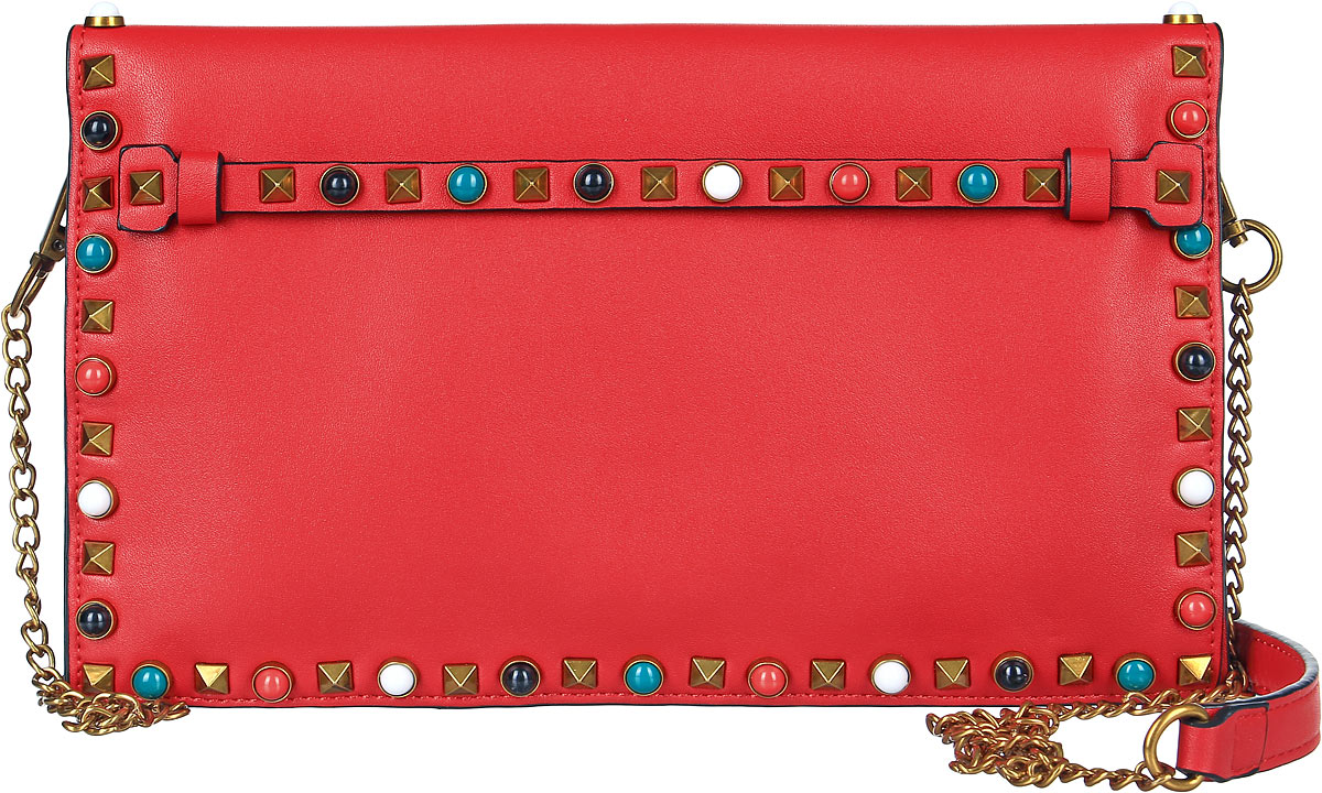 Клатч женский OrsOro, цвет: красный. D-020/3