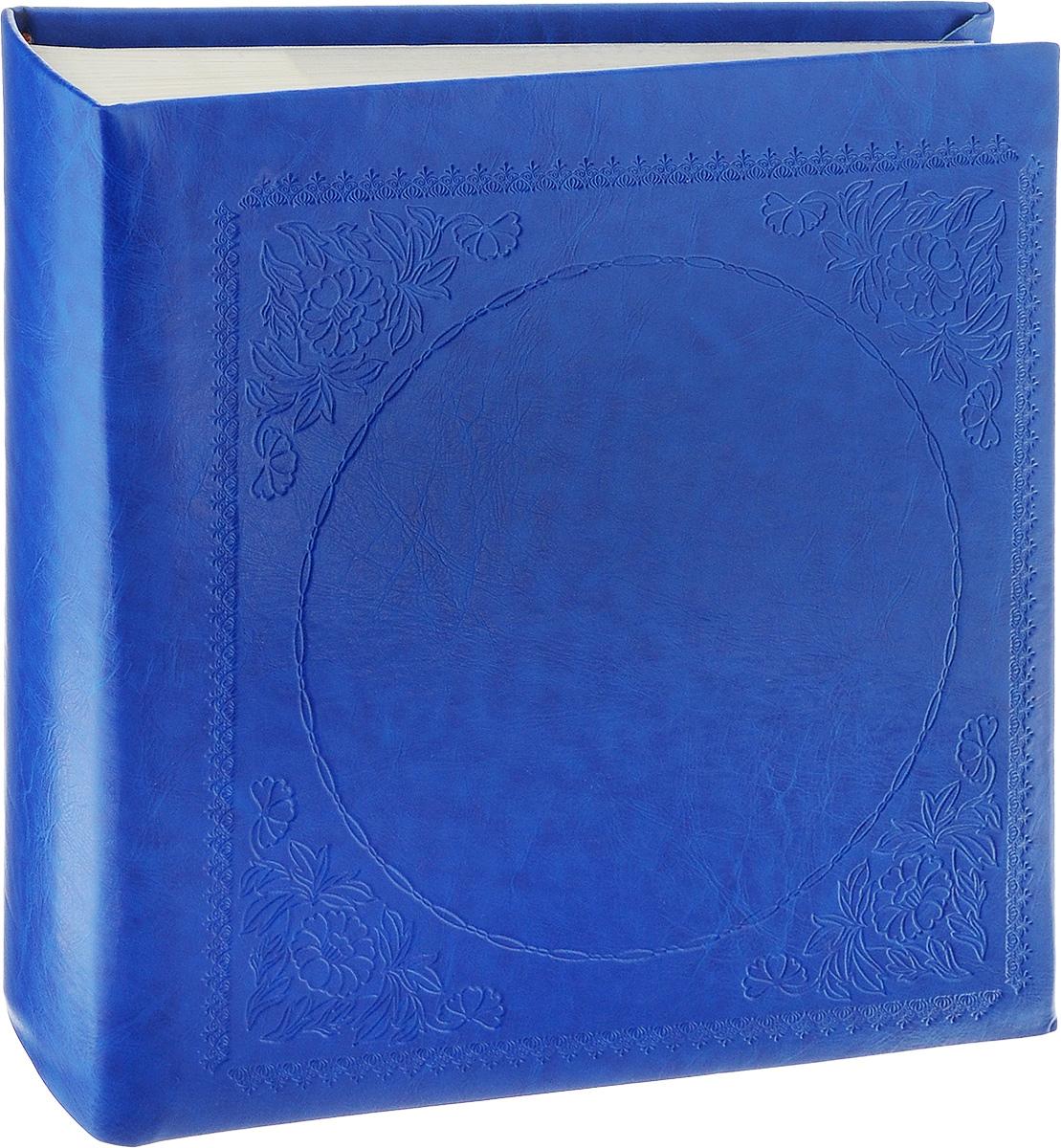 Фотоальбом Pioneer Glossy Leathern, 200 фотографий, цвет: синий, 10 x 15 см фотоальбом platinum классика 240 фотографий 10 x 15 см