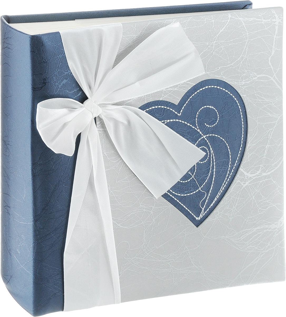Фотоальбом Pioneer Love, 200 фотографий, цвет: серый, темно-синий, 10 x 15 см фотоальбом platinum классика love 200 фотографий 10 x 15 см
