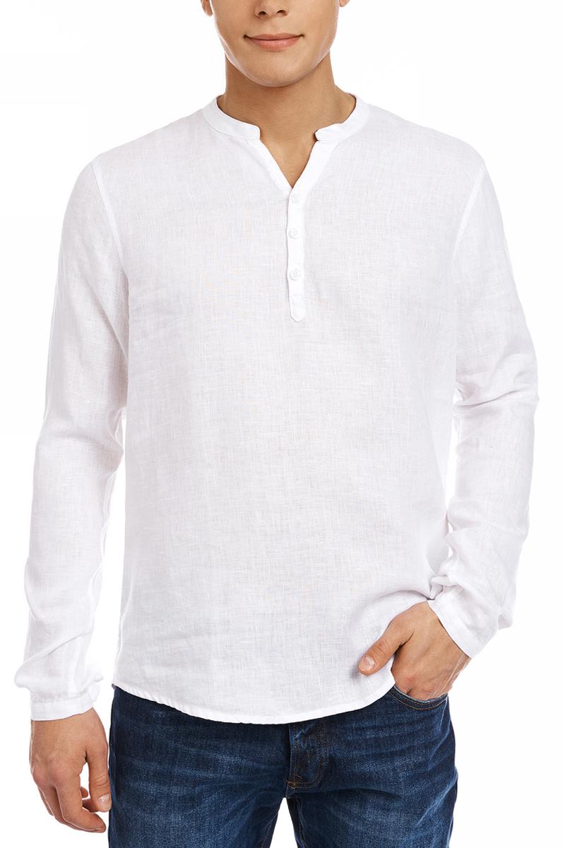 цена Рубашка oodji Basic онлайн в 2017 году