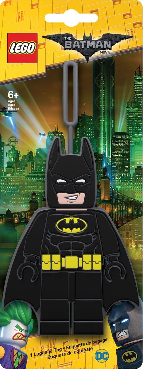 Бирка для багажа LEGO Batman Movie Batman. 51727 бирка для багажа batman movie kimono batman