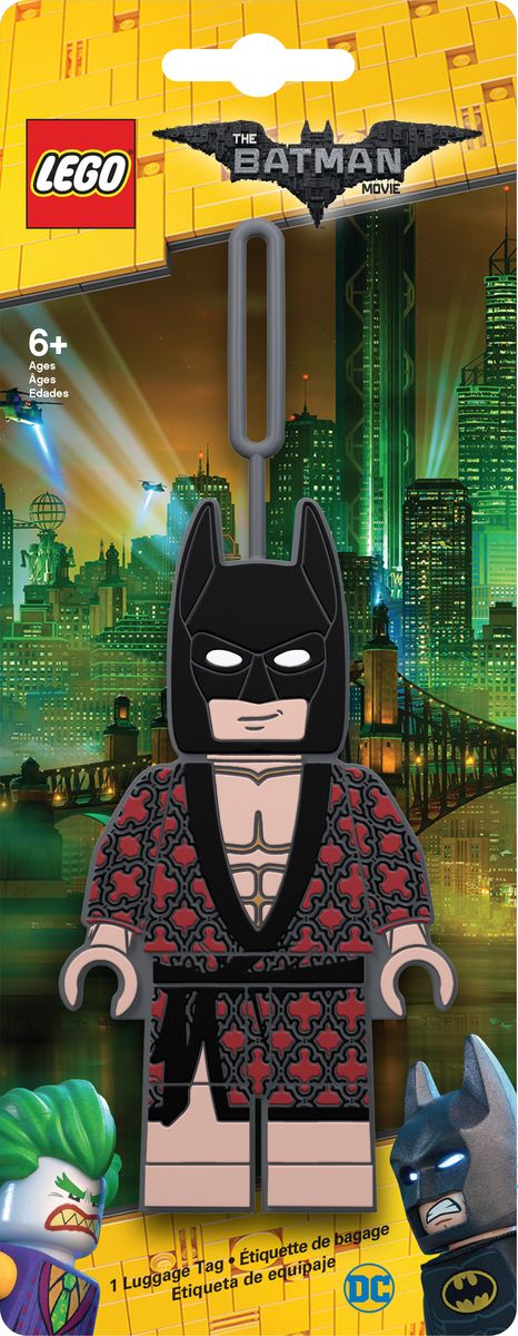 Бирка для багажа LEGO Batman Movie Kimono Batman. 51728 бирка для багажа lego batman movie kimono batman
