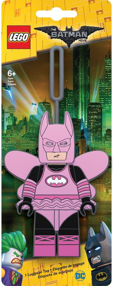 Бирка для багажа LEGO Batman Movie Fairy Princess Batman. 51729 бирка для багажа batman movie fairy princess batman