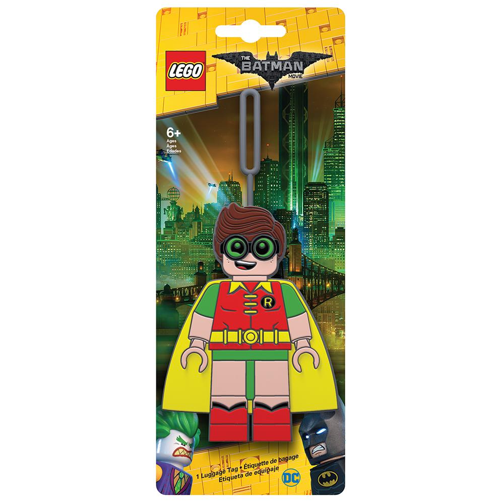 Бирка для багажа LEGO Batman Movie Robin. 51751 бирка для багажа batman movie kimono batman