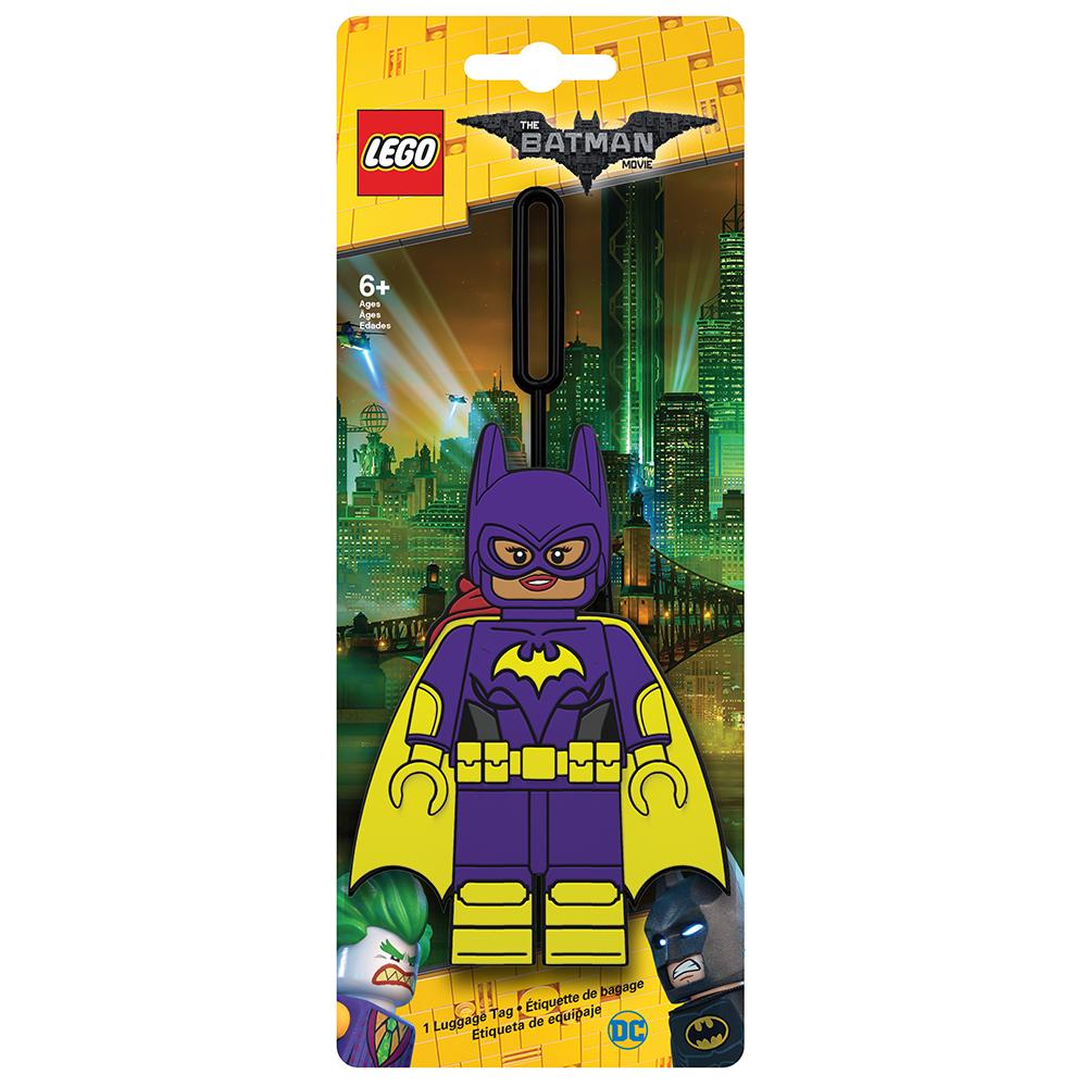 Бирка для багажа LEGO Batman Movie Batgirl. 51752 бирка для багажа batman movie kimono batman