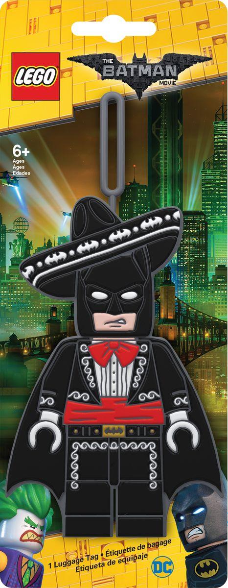 Бирка для багажа LEGO Batman Movie Mariachi Batman. 51756 бирка для багажа batman movie kimono batman