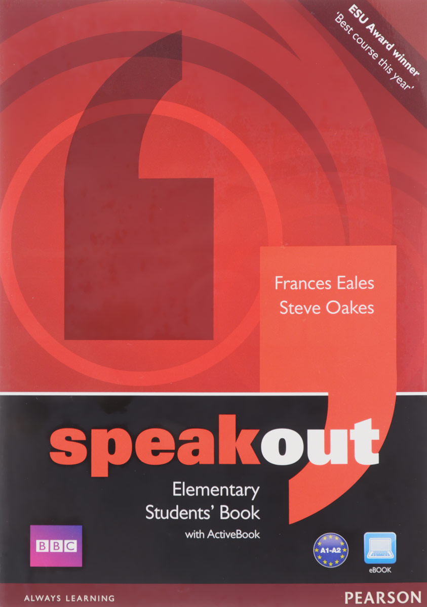 Speakout: Elementary: Student's Book with Active Book (+ DVD) network elementary a video based course dvd